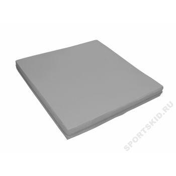 Мат гимнастический 1х1 м (Серый)