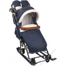 Санки-коляска Ника детям 7-8