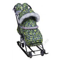Санки-коляска Ника детям 7-8S