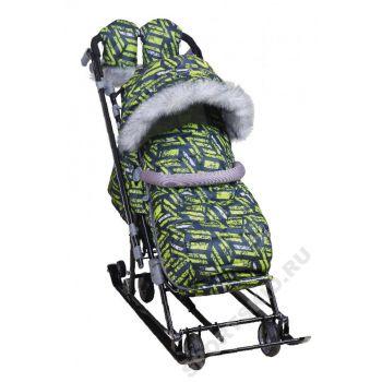 Санки-коляска Ника детям НД 7-8S