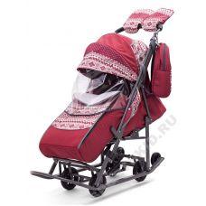 Санки-коляска Pikate Скандинавия