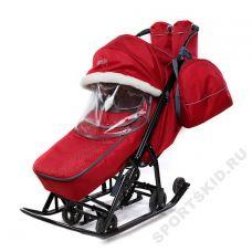 Санки-коляска Pikate Снеговик (2020)