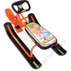 Снегокат Тимка спорт 2 Фиксики оранжевые