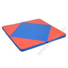Мат гимнастический 1,15х1,15х0,1м (складной, закругленные углы)