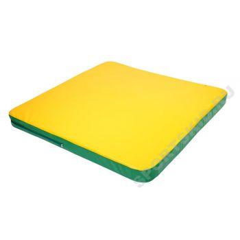 Мат гимнастический 1,36х1,36х0,05м (закругленные углы)