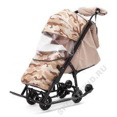 Санки-коляска Pikate Compact Military