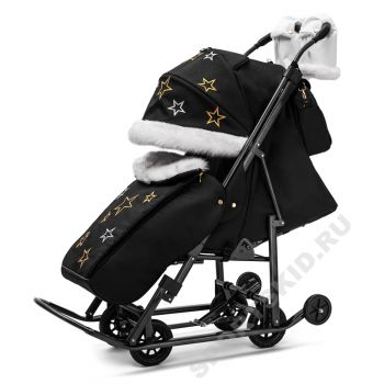 Санки-коляска Pikate Limited Edition