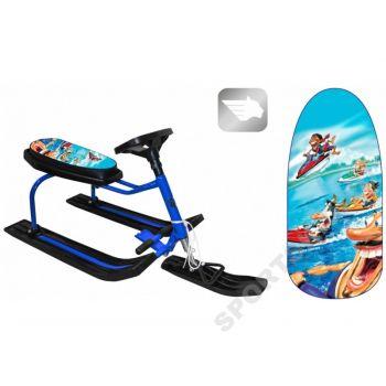 Снегокат Bike Aqua